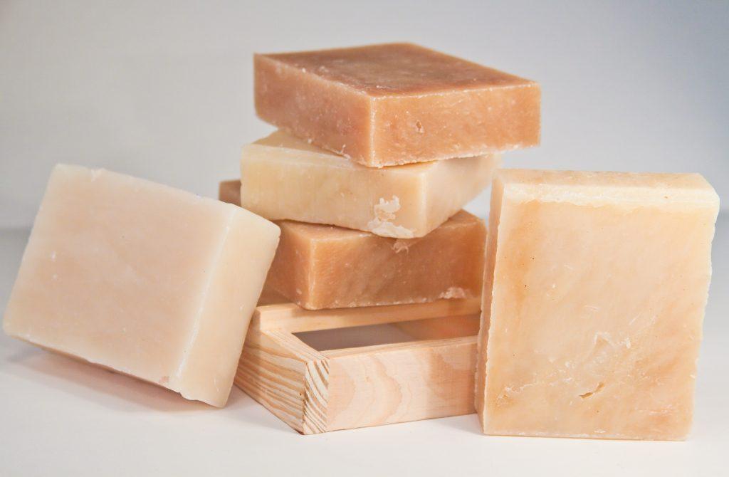 Săpun purificat cu sulf-gama vegetală
